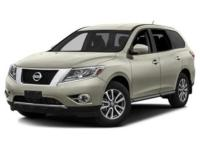Tried-and-true, this 2016 Nissan Pathfinder S makes