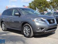 You're looking at a 2016 Nissan Pathfinder S in