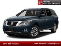 This Pathfinder is Nissan Certified Pre-Owned, Still