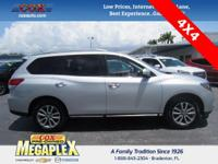 This 2016 Nissan Pathfinder SL in Glacier White is well
