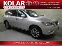 2016 Nissan Pathfinder SV, 4WD, Below Book Value!, And