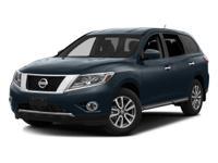 2016 Glacier White Nissan Pathfinder SV CVT with