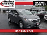 2016 Nissan Quest in Gray Certified Warranty and CarFax