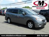 CLEAN CARFAX/NO ACCIDENTS REPORTED, ONE OWNER, NISSAN