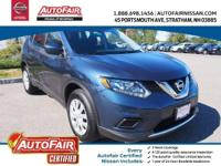 Nissan Certified! AWD. Sizeable room overhead and