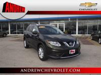 This impressive 2016 Nissan Rogue SV, with its grippy