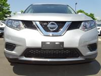CARFAX One-Owner. Brilliant Silver 2016 Nissan Rogue S