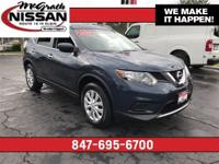 2016 Nissan Rogue S CARFAX One-Owner.32/25 Highway/City