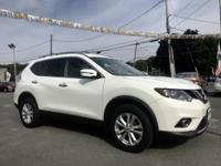 2016 Nissan Rogue SV White AWD. 25/32mpg Awards:   *