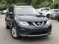 2016 Nissan Rogue Blue 32/25 Highway/City MPG CARFAX