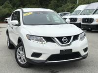 2016 Nissan Rogue White Odometer is 6107 miles below