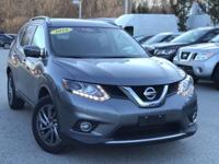 2016 Nissan Rogue Gray 25/32 City/Highway MPG CARFAX
