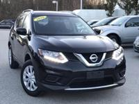 2016 Nissan Rogue S Magnetic Black NISSAN CERTIFIED,