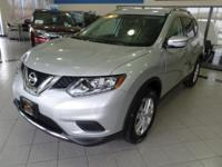 Beautiful  in Brilliant Silver, our 2016 Nissan Rogue