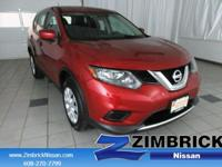 Options:  2016 Nissan Rogue Awd 4Dr S|4 Cylinder