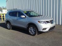 ONE OWNER!! 2016 NISSAN ROGUE SV!! AWD, 2.5L, CVT,