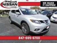 2016 Nissan Rogue SL All Wheel Drive, Certified
