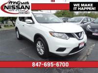 2016 Nissan Rogue SV All Wheel Drive Certified Warranty