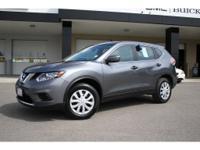 Options:  2016 Nissan Rogue  Gray 25 300 Miles Stock