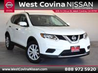 CARFAX One-Owner. Clean CARFAX. White 2016 Nissan Rogue