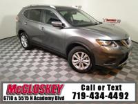 Sporty 2016 Nissan Rogue SL Offering Keyless Entry,
