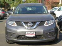 Options:  2016 Nissan Rogue S Sport
