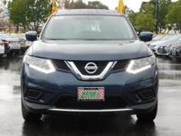 Options:  2016 Nissan Rogue S|Blue/Black|V4 2.5L