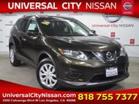 Clean CARFAX. Certified. Green 2016 Nissan Rogue S 4D