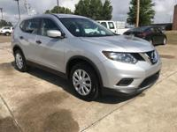 2016 Nissan Rogue S CVT with Xtronic Silver 2.5L I4