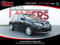 CARFAX One-Owner. Clean CARFAX. Black 2016 Nissan Rogue