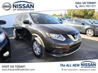 Beautiful in Magnetic Black, our One Owner 2016 Nissan