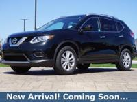 2016 Nissan Rogue SV in Magnetic Black, This Rogue