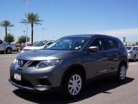 Get ready to go for a ride in this 2016 Nissan Rogue S,