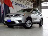 CARFAX One-Owner. Silver 2016 Nissan Rogue FWD CVT with