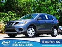 2016 Nissan Rogue in Gray. Stability and traction