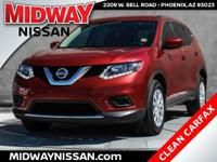 New Price!2016 Nissan Rogue S Cayenne Red 2.5L I4 DOHC