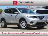 Clean CARFAX. Certified. Silver 2016 Nissan Rogue FWD