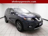 Arctic Blue Metallic 2016 Nissan Rogue SL ** ONE OWNER,