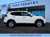 New Price! CARFAX One-Owner. Glacier White Nissan Rogue