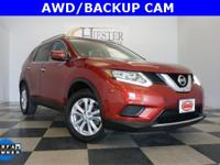 Options:  2016 Nissan Rogue Sv|Red|Carfax