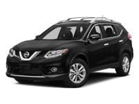 Magnetic Black 2016 Nissan Rogue SV AWD CVT with