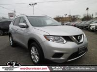 CARFAX One-Owner. Brilliant Silver 2016 Nissan Rogue SV