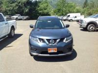 Blue 2016 Nissan Rogue SV AWD CVT with Xtronic 2.5L I4