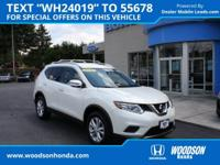 2016 Nissan Rogue SV AWD, Traded here,Back-Up Camera,