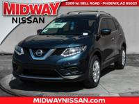 2016 Nissan Rogue S 33/26 Highway/City MPGAwards:  *