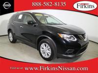 *NISSAN CERTIFIED*. Rogue SV, 4D Sport Utility, 2.5L I4