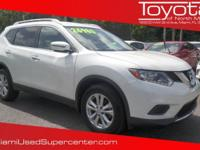 Options:  2016 Nissan Rogue Sv|Glacier White/|V4 2.5 L