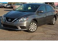 This 2016 Nissan Sentra 4dr 4dr Sedan I4 CVT S features