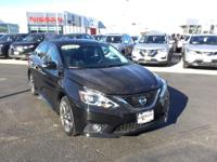 CARFAX One-Owner. Super Black 2016 Nissan Sentra SR FWD