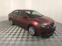 CARFAX One-Owner. Clean CARFAX. Red 2016 Nissan Sentra